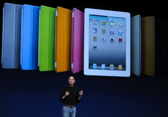 STEVE JOBS UNVEILS APPLE IPAD 2