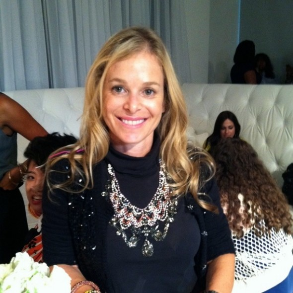 Me at the IFB Conference with my Dannijo statement necklace