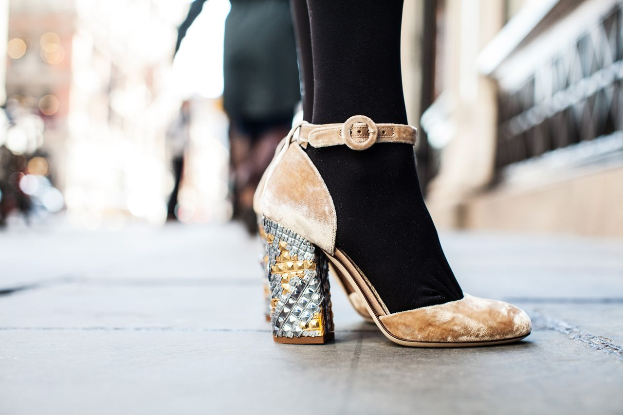 Dolce & Gabbana sequined shoes